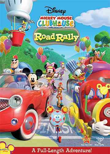 MICKEY MOUSE CLUBHOUSE:ROAD RALLY BY MICKEY MOUSE CLUBHOU (DVD)